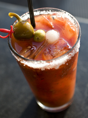 Homemade Bloody Mary